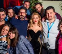 O asterasRadio 92 στo backstage των video Clip της Νατάσσας Μποφίλιου και του antonis B
