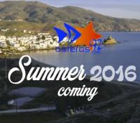 Το Νέο asteras Summer Video Teaser 2016 είναι έτοιμο (δες το εδώ)