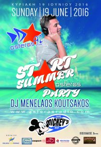 start summer Party @ asterasRadio 92