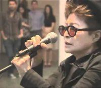 Yoko Ono στη Θεσσαλονίκη.