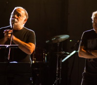 Θάνος Μικρούτσικος καί Μίλτος Πασχαλίδης συναυλία στην Άνδρο