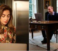 Η Lady Gaga συνομιλεί με τον πρίγκιπα Ουίλιαμ μέσω FaceTime και μιλά για τη μάχη της με την PTSD!