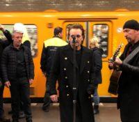 U2 live……στο μετρό του Βερολίνου!