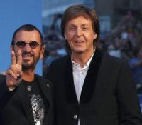 Ringo Starr με το καλό και σερ. Ο Paul McCartney έδωσε συγχαρητήρια.