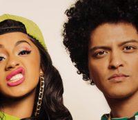 Bruno Mars feat Cardi B «Finesse» Η R&B και η funk συναντούν τη hip-hop.