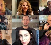 9 Έλληνες καλλιτέχνες τραγουδούν «Θα Κάτσω Σπίτι»